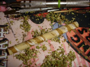 Roll it in a joint!