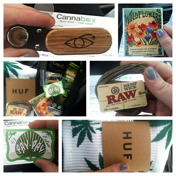 April's Cannabox Contents (Click for Source)