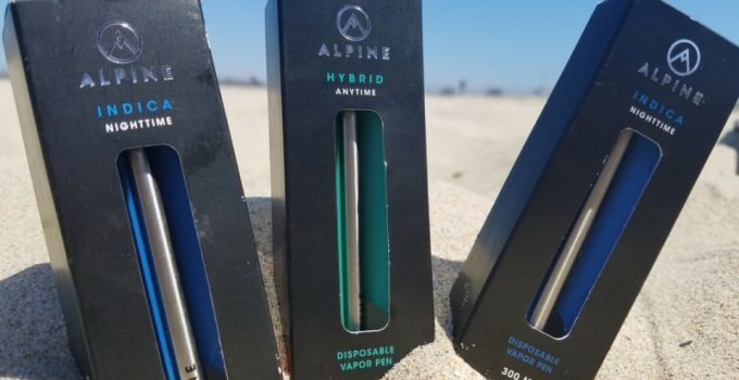 alpine vape pen
