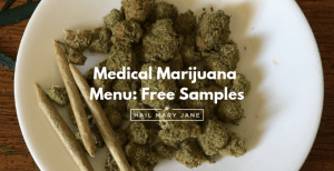 Sample Medical Marijuana Menu