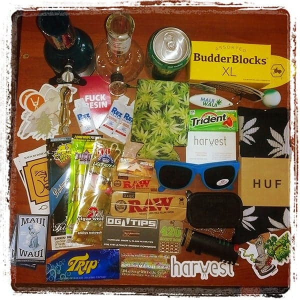 Best Cannabis Care Package Ever? Unboxing and Review - Hail Mary Jane