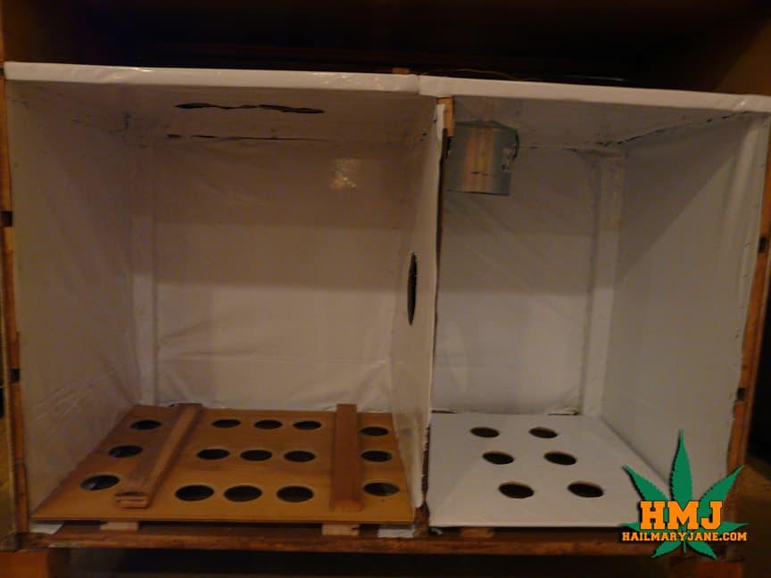 building diy weed grow box