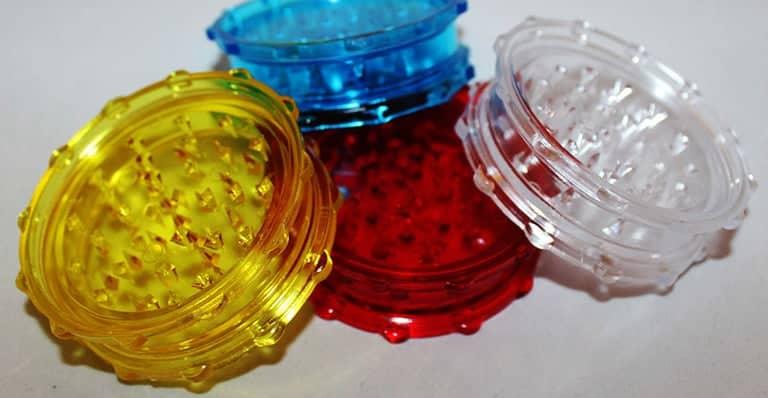 plastic weed grinders
