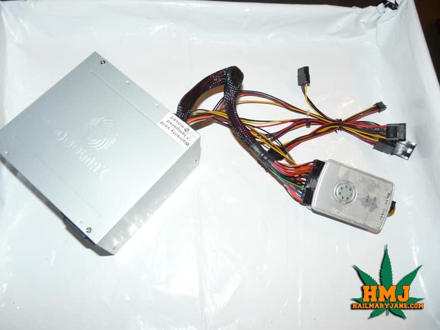 power supply grow box