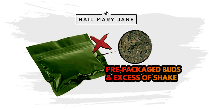pre-packaged buds
