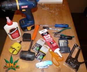 tools stealth grow box