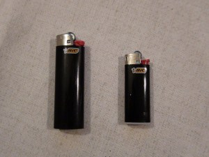 two lighters