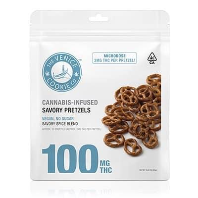 thc infused pretzels