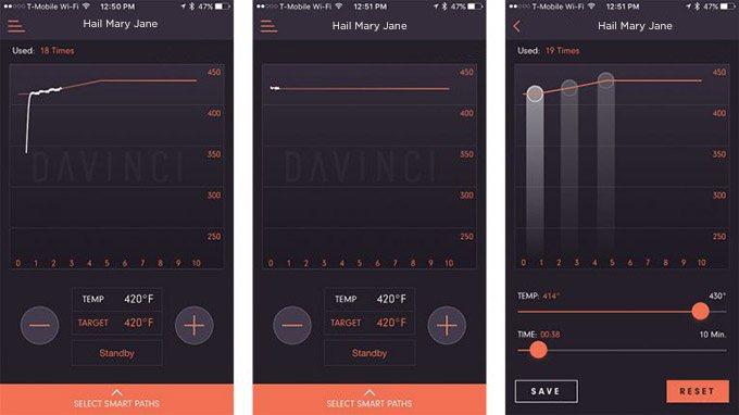 Davinci Smartphone App