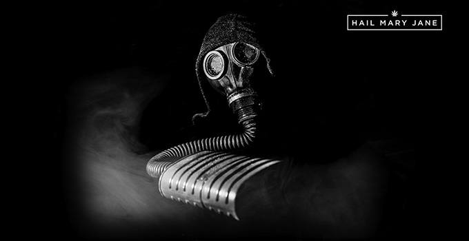Gas Mask Bong: A Way To Get High - Hail Mary Jane ®
