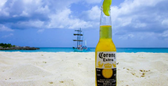 corona cannabis infused beer