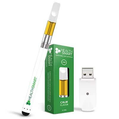 Healthj Smart CBD vape pen starter kit