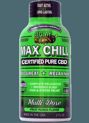 HEMP BOMBS CBD MAX CHILL SHOT