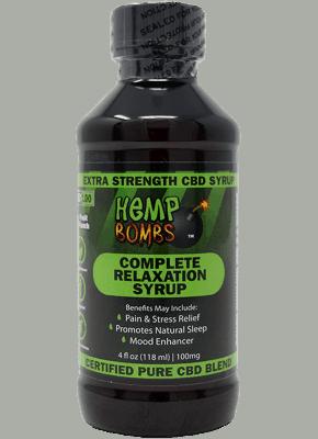 Hemp Bombs CBD Relaxation syrup