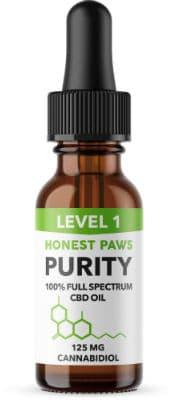 Honest Paws CBD oil dogs
