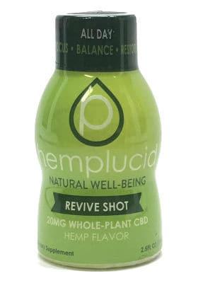hemp lucid cbd shot