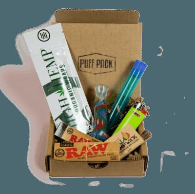 puff pack box