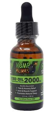 2000mg cbd oil hemp bombs