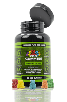 Bottle 20Gummies CBD HEMPBOMBS