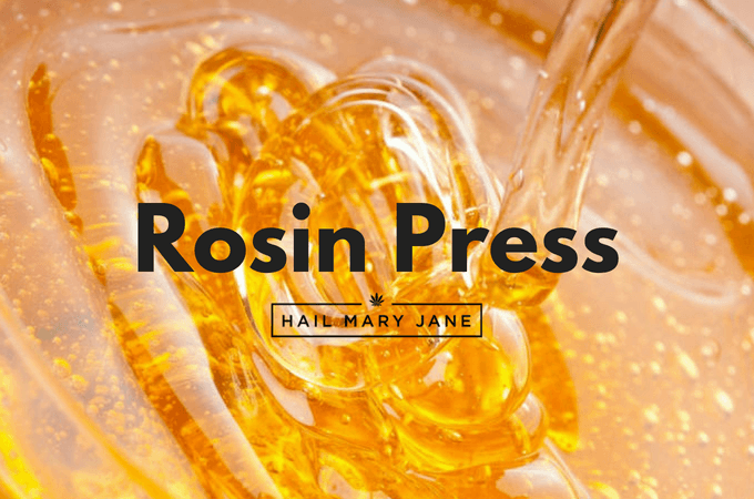 Rosin Press all you need to know