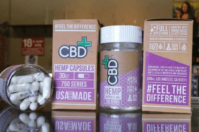cbdfx capsules