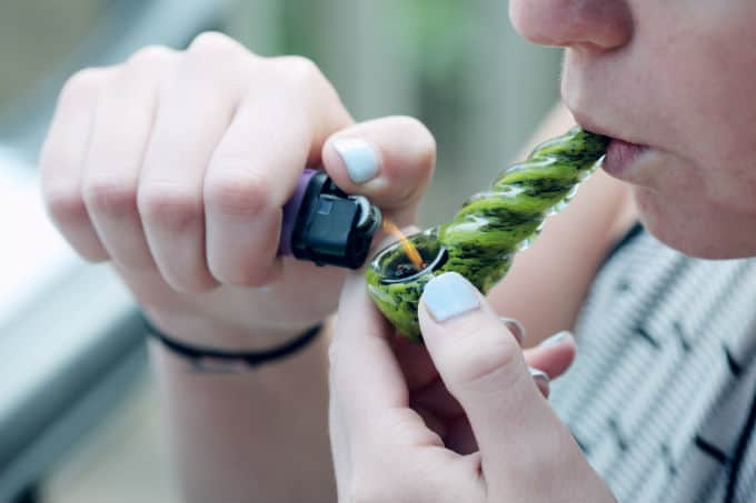 how to smoke one hitter