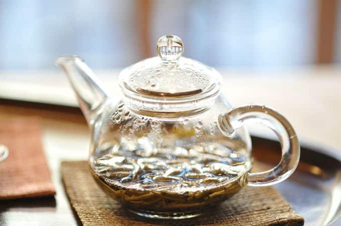 tea cannabis stems