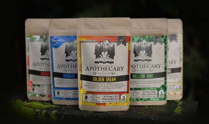 the brothers apothecary weed teas