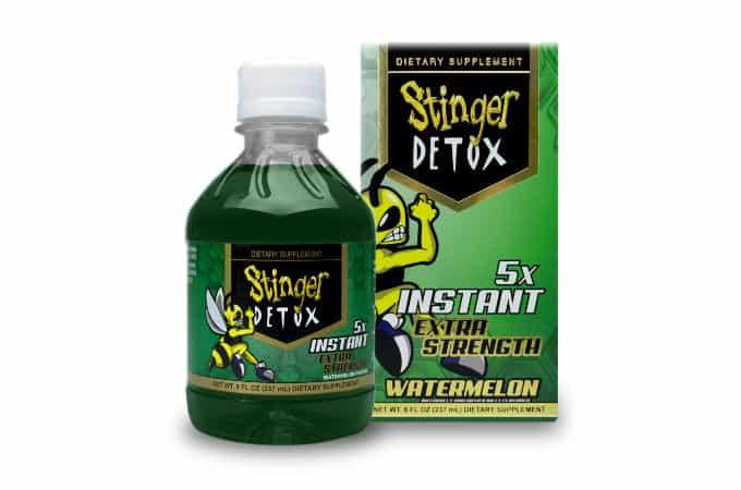 stinger thc detox drink