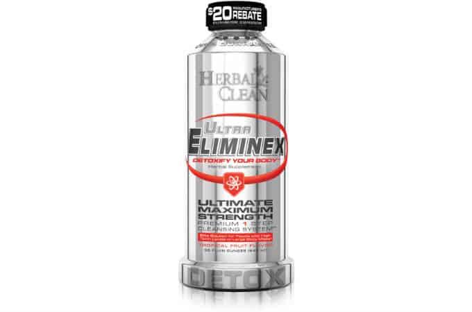 ultra eliminex premium thc detox drink