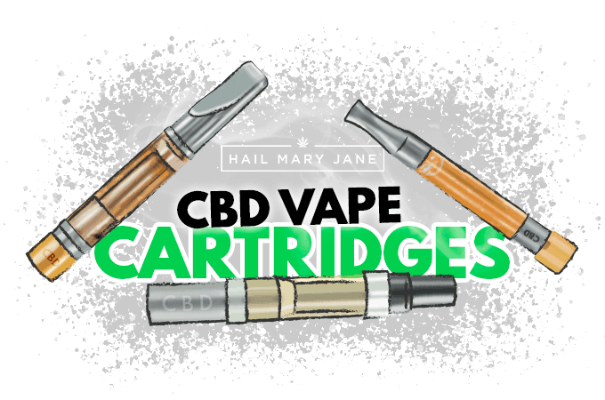 CBD Vape Cartridges: All You Need To Know - Hail Mary Jane ®