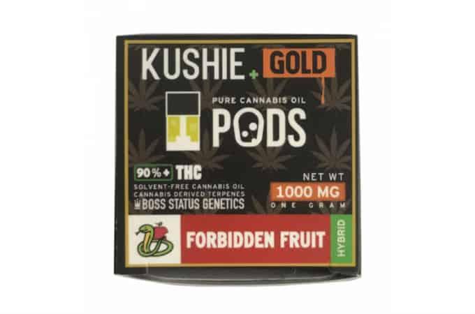 kushie gold thc juul pods