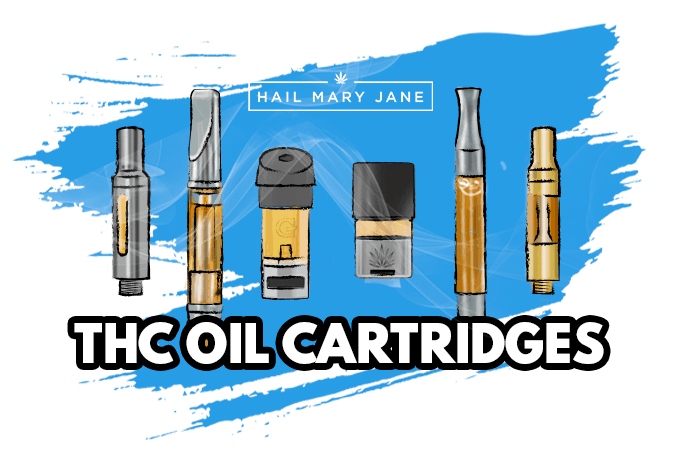 Best THC Oil Cartridges On The Market 2019 - Hail Mary Jane ®