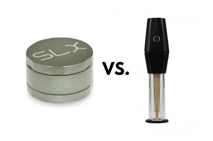 manual or electric weed grinders