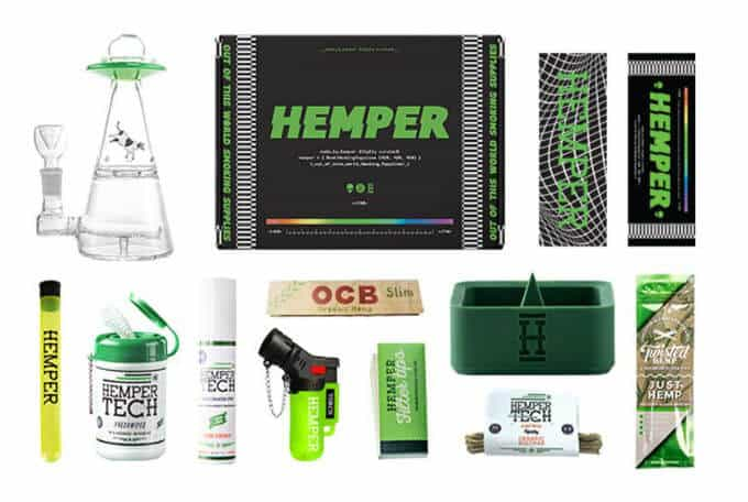 HEMPER Weed Subscription Box Review - Hail Mary Jane ®