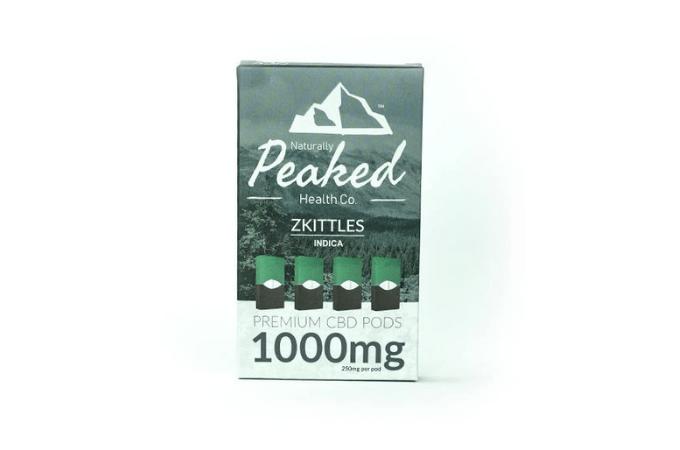 peaked juul pods