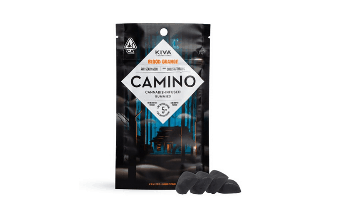 Camino Blood Orange THC Gummies