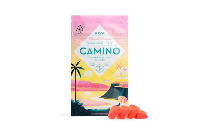 Camino Watermelon Lemonade THC Gummies