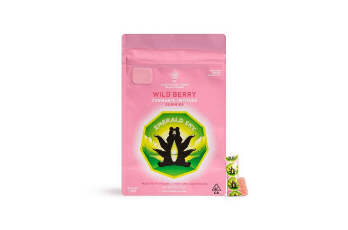 Emerald Wild Berry THC Gummies