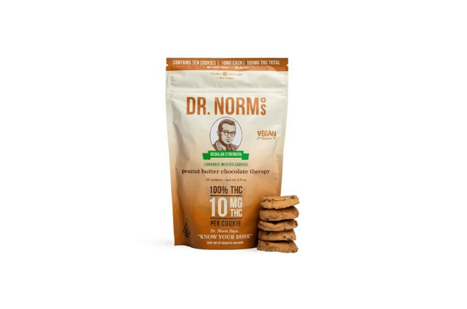dr norms cookies thc edibles