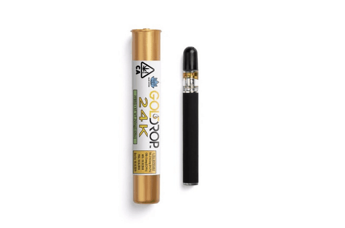 gold drop thc vape pen