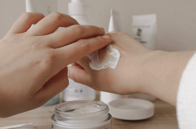 how does thc lotion work
