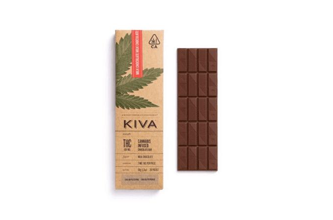 kiva chocolate thc edibles