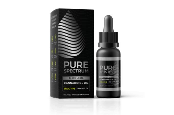 black label pure sprectum cbd oil