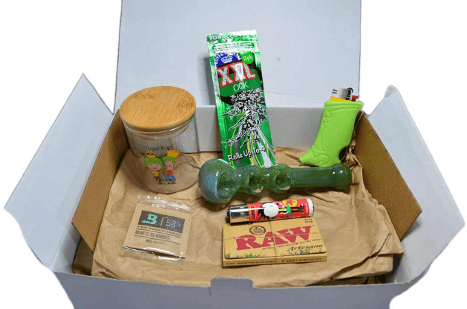 the green box weed subscription box
