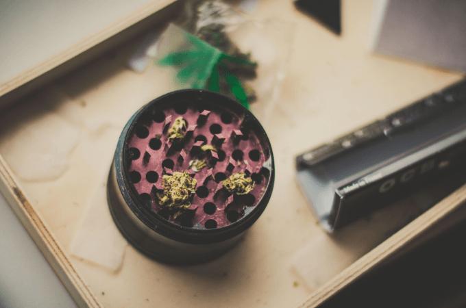 diy grinder to grind weed