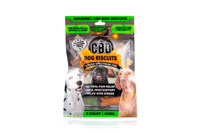 hemp bombs cbd biscuits for dogs