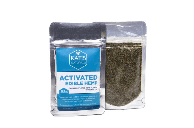 activated edible hemp kats naturals CBD