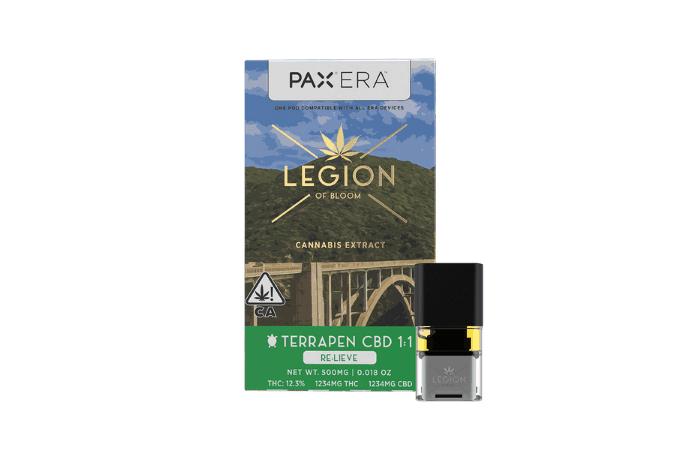 pax era legion of bloom relieve