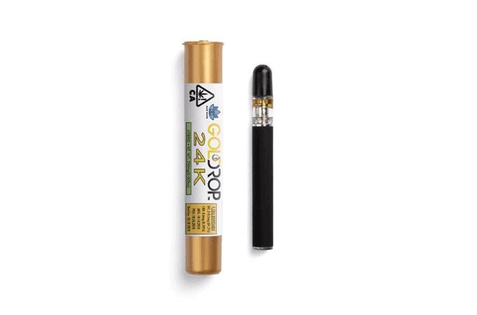 Gold Drop 24K THC Vape Pen
